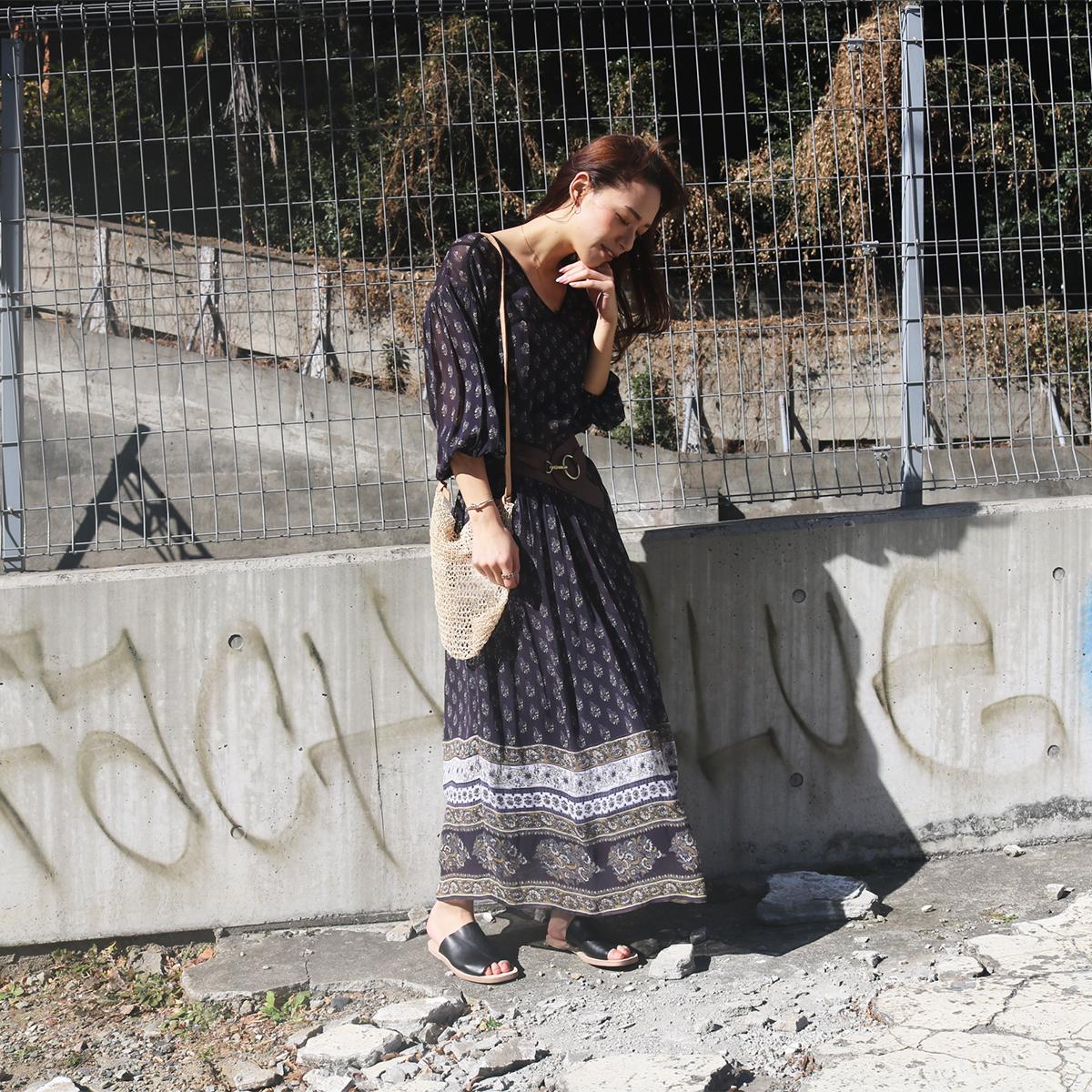 Georgette Pattern Dress