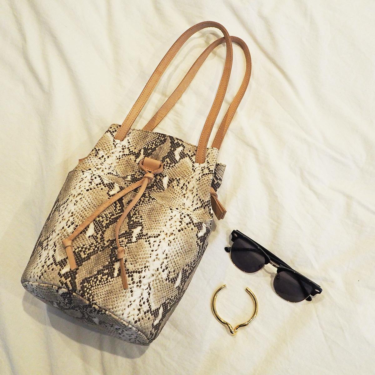 Python Purse Bag