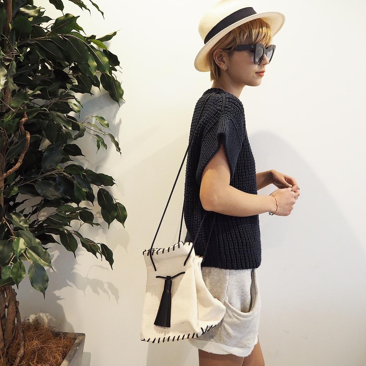 Canvas Stitch Shoulderbag