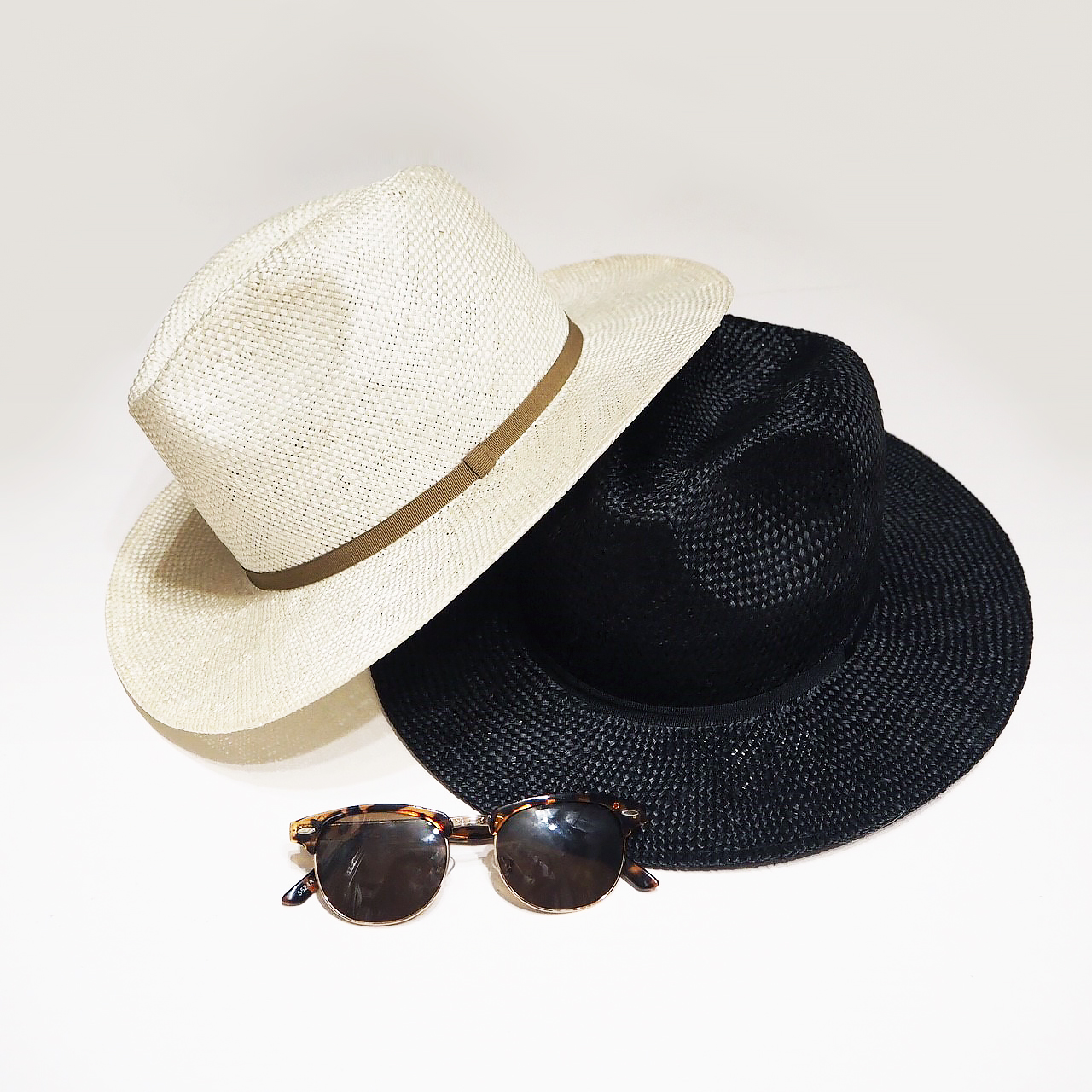 Straw Tape Hat