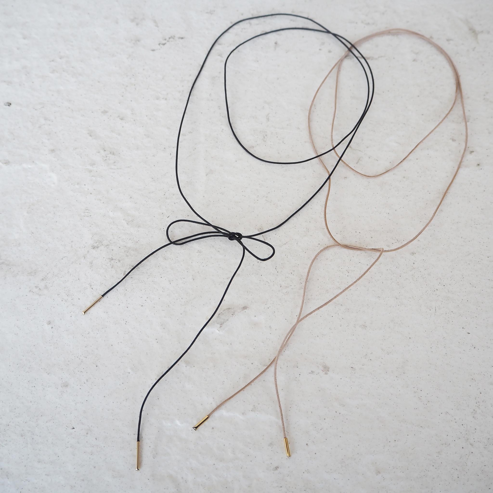 Leather Cord Choker