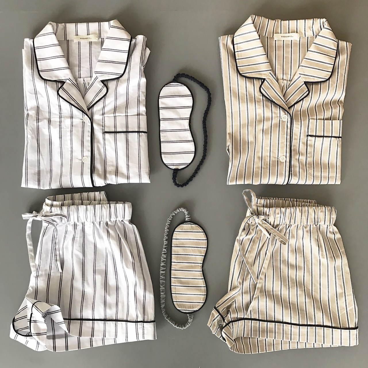 Stripe Pajamas Set