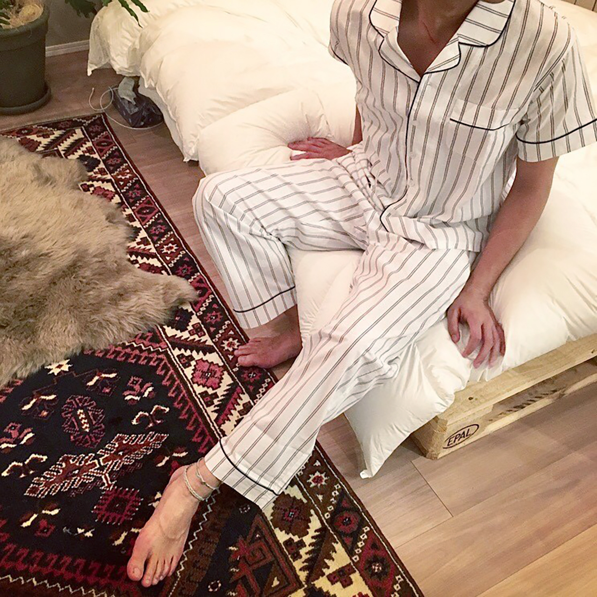 Stripe Pajamas Set (men's)