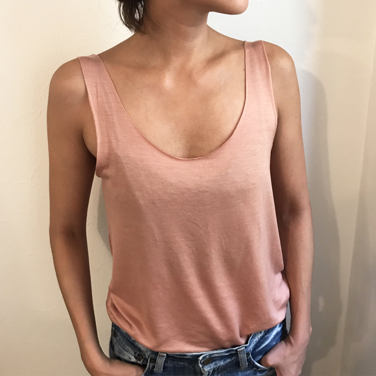 Cutoff Rough Tanktop