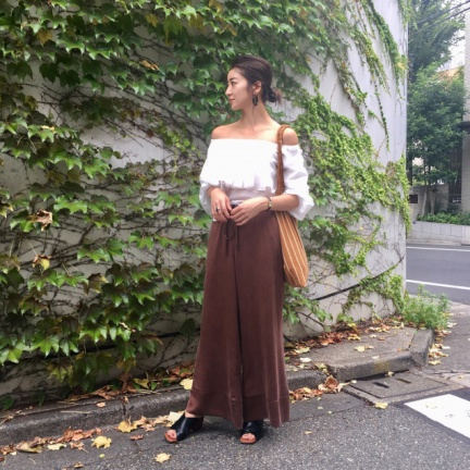 TODAYFUL(トゥデイフル) |Offshoulder Voluminous Blouse