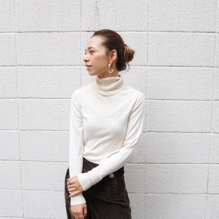 TODAYFUL(トゥデイフル) |Highgauge Turtle Knit