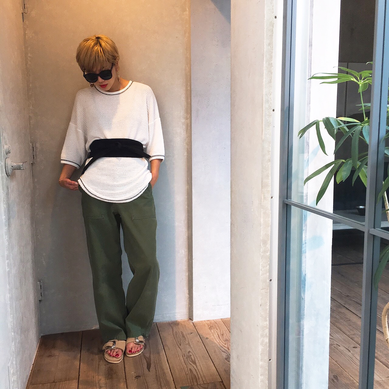 Oversize Thermal Tee