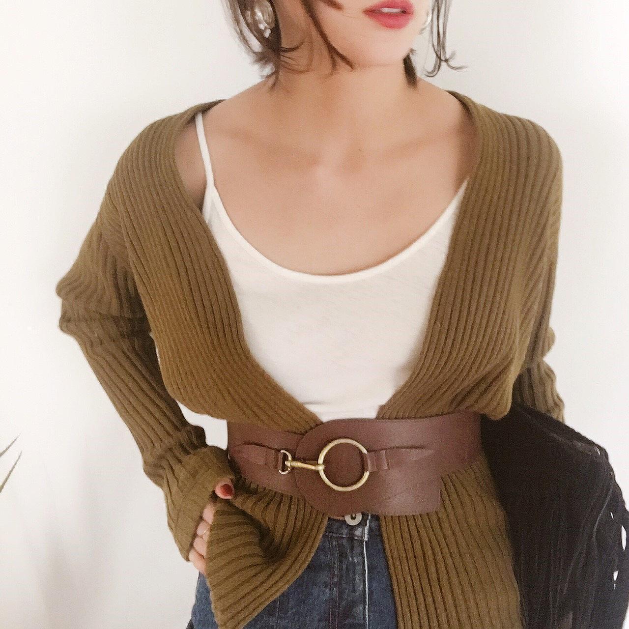 Leather Bit Belt