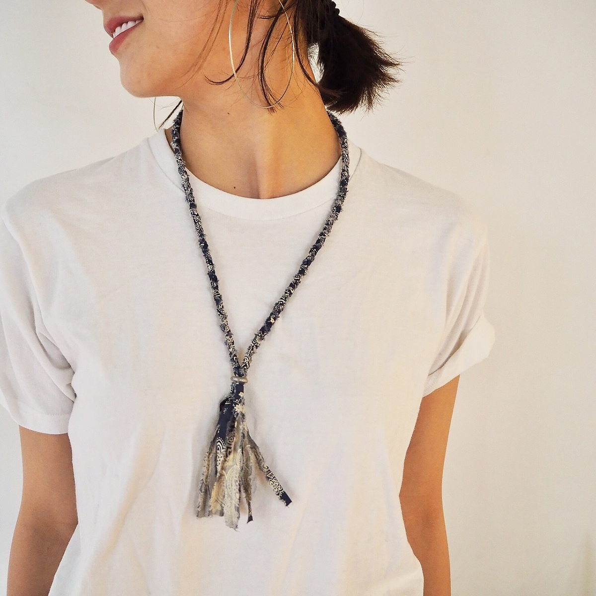 Bandanna Necklace