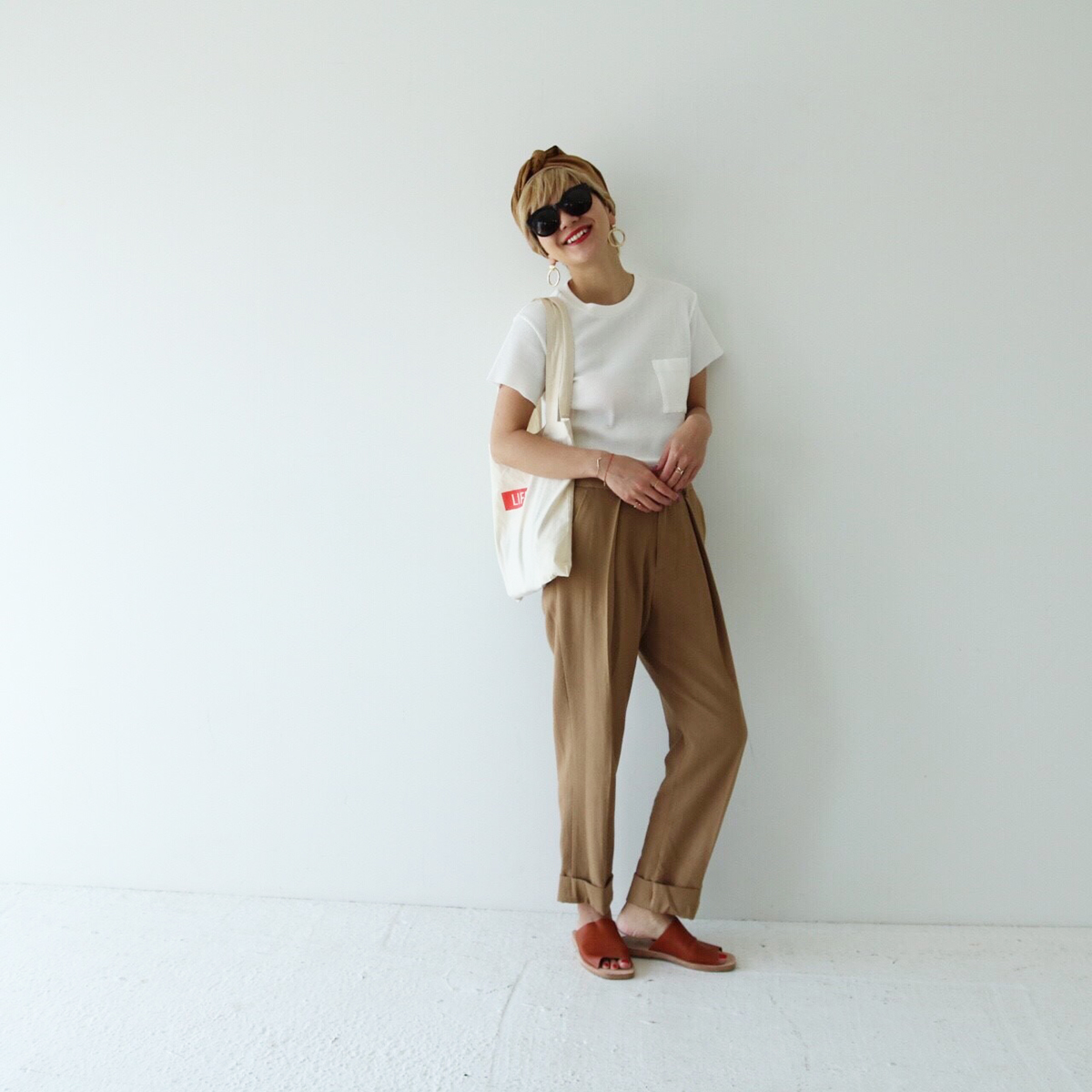 Center Tuck Trousers