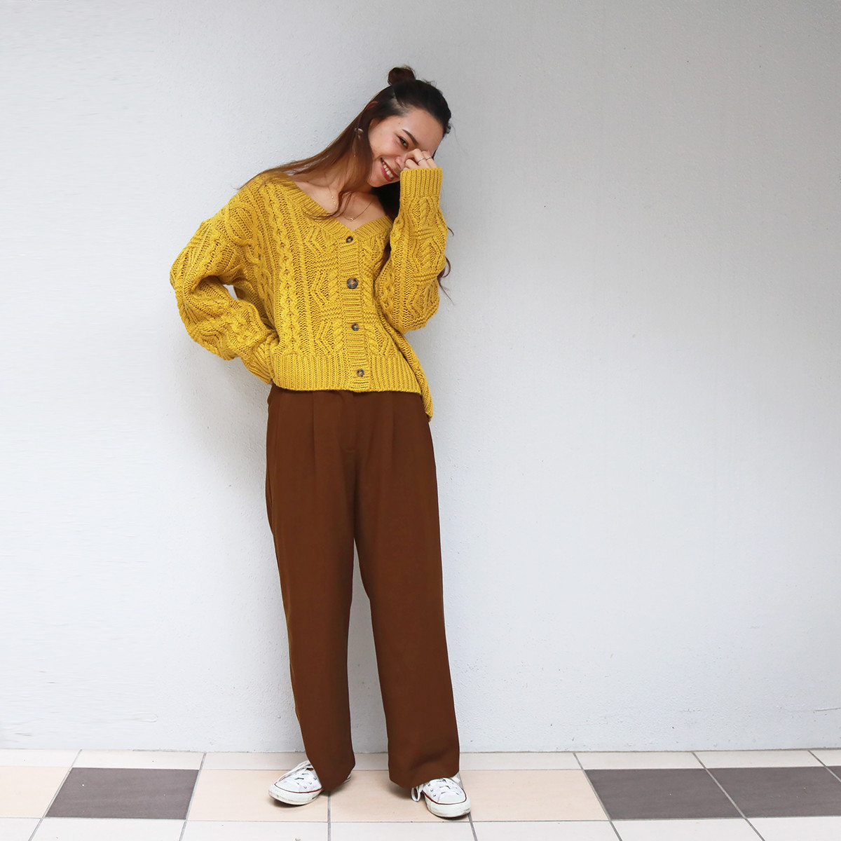 Highwaist Wide Trousers