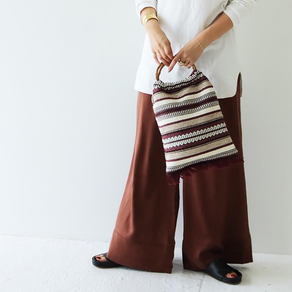 Bamboo Jacquard Bag