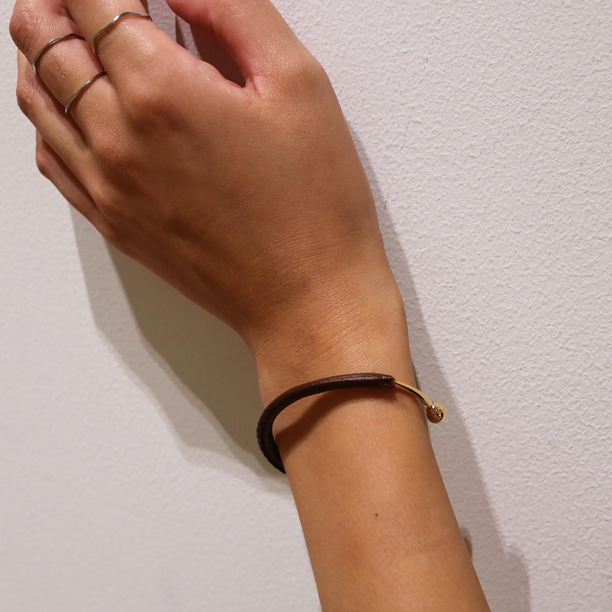 Leather Round Bracelet