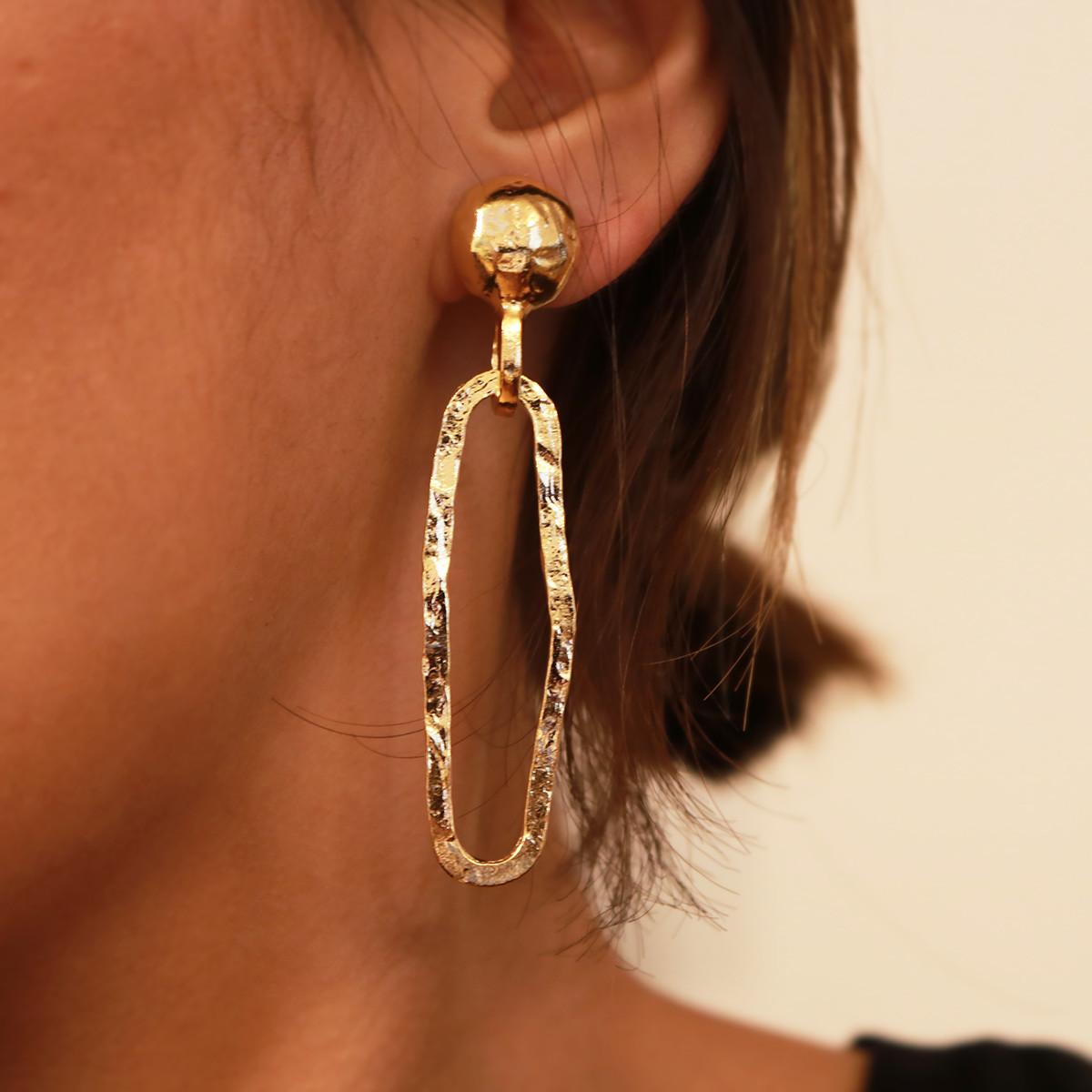 Swing Twxture Earring