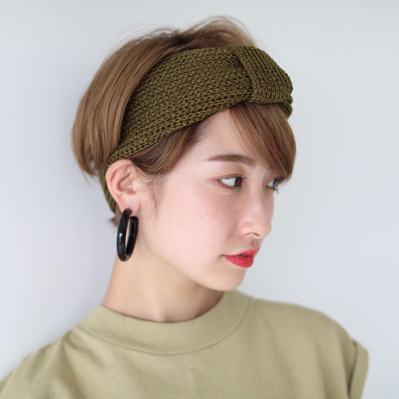 Paper Hair Turban