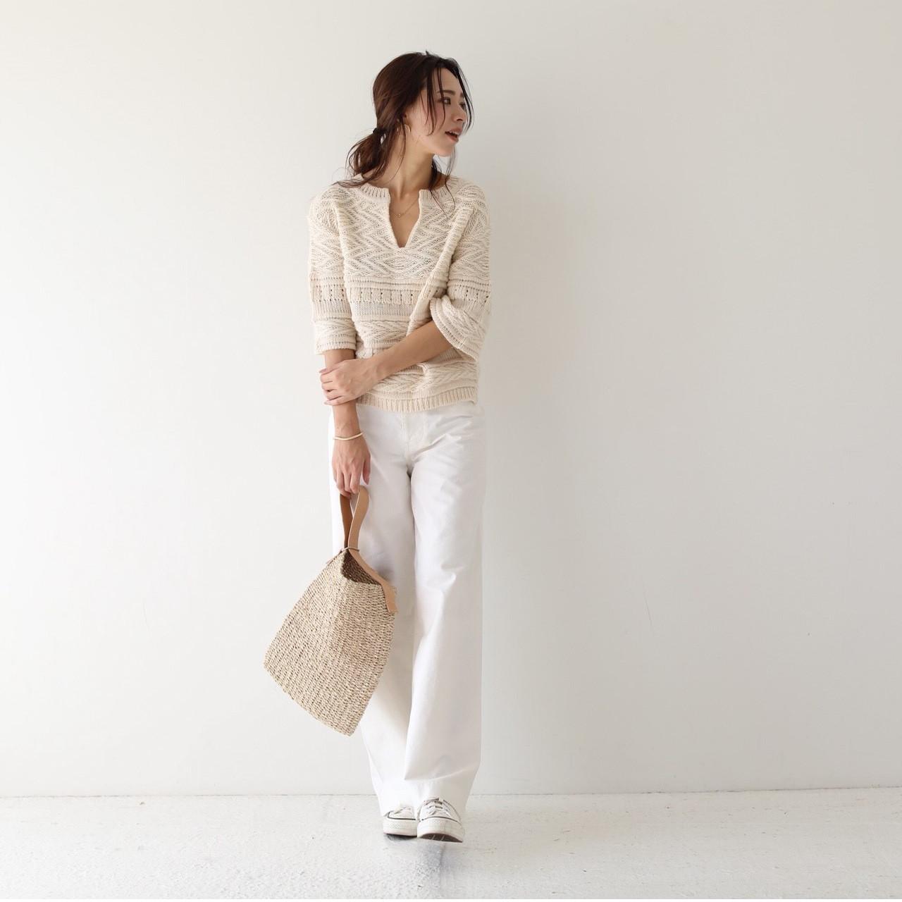 Onehandle Abaca Bag