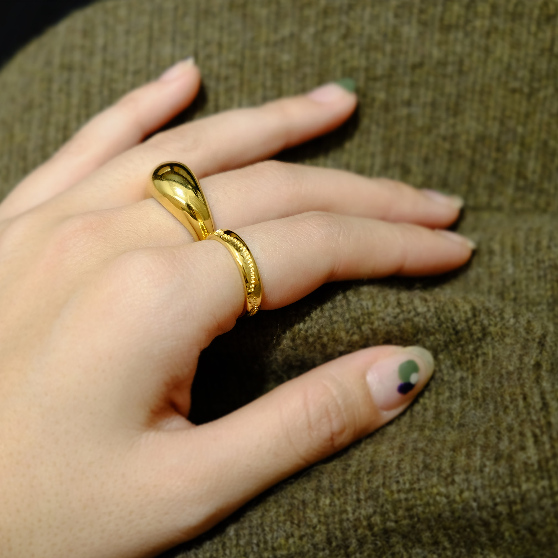Native Line Ring