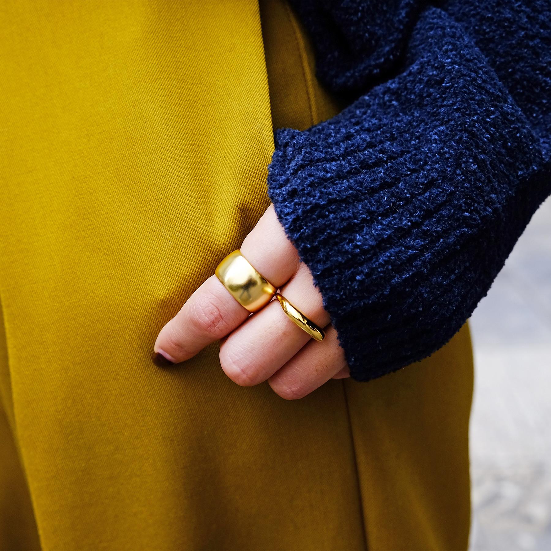 Wide Brass Ring