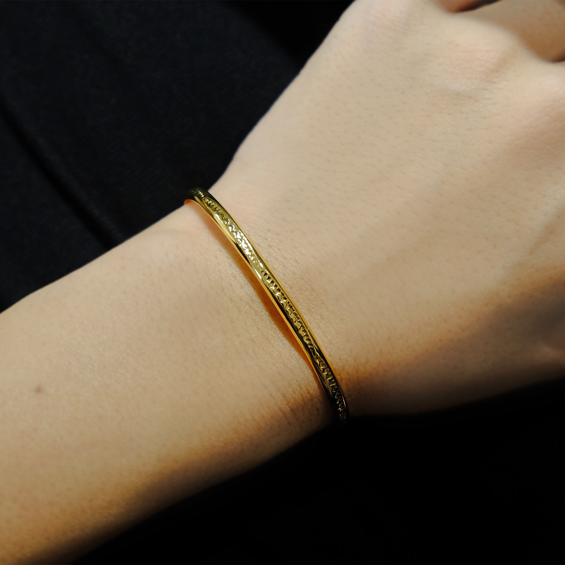 Native Line Bangle