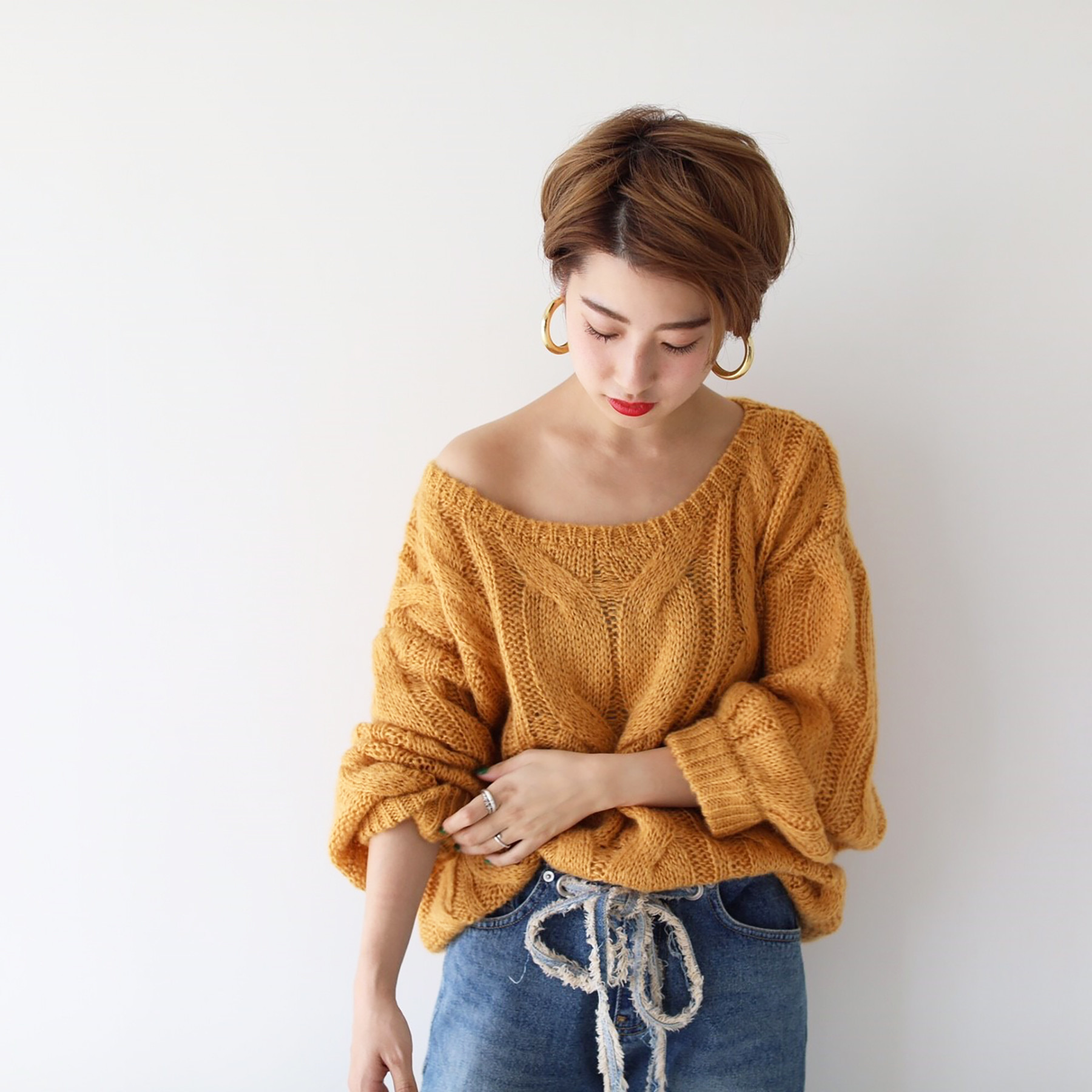 Loose Cable Knit