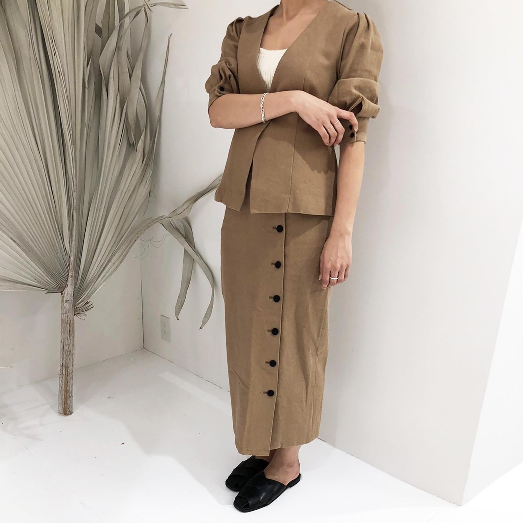 Linen Button SK