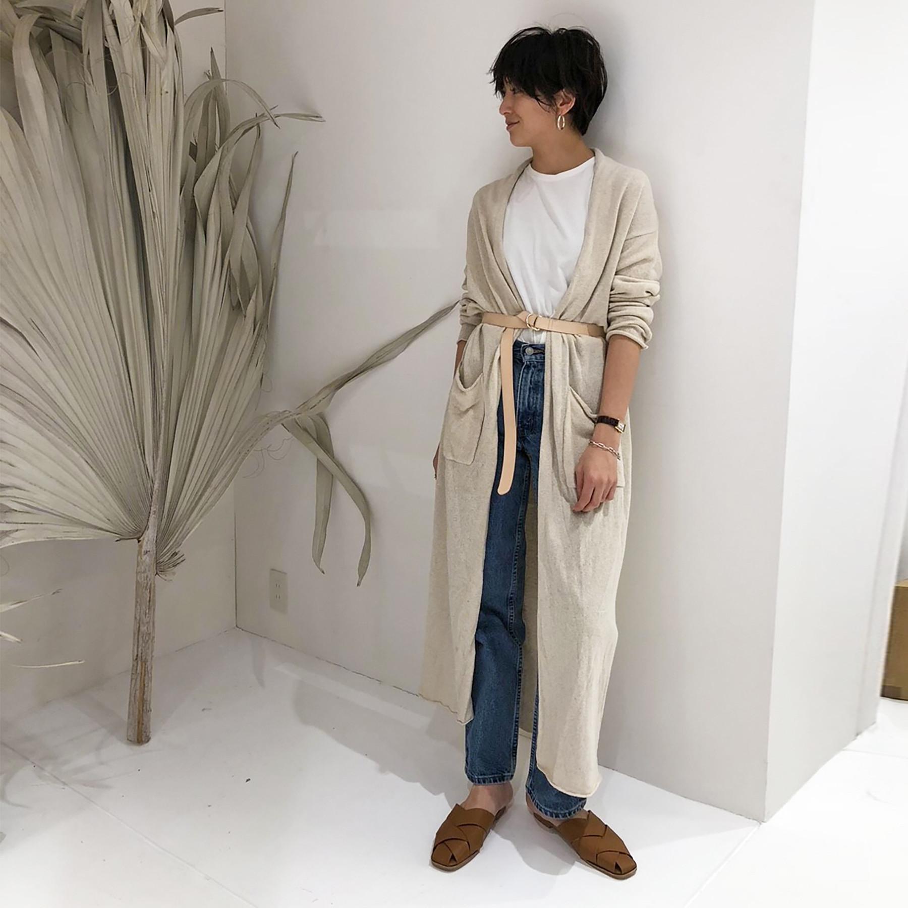 Silk Knit Cardigan