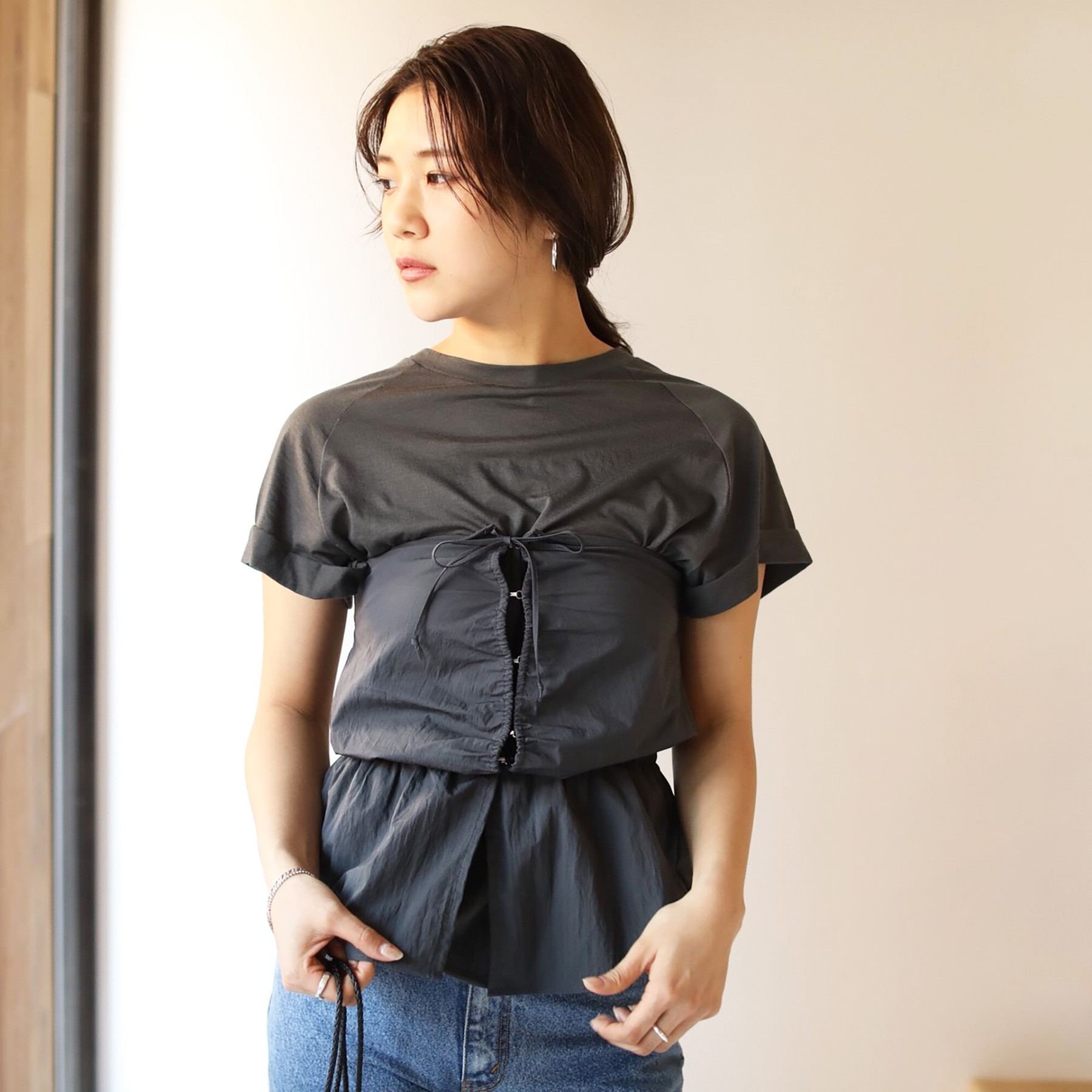 Front Gather Bustier