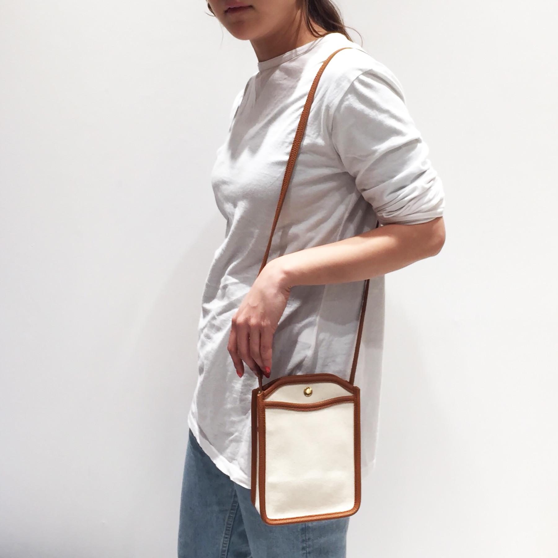 Piping Canvas Bag