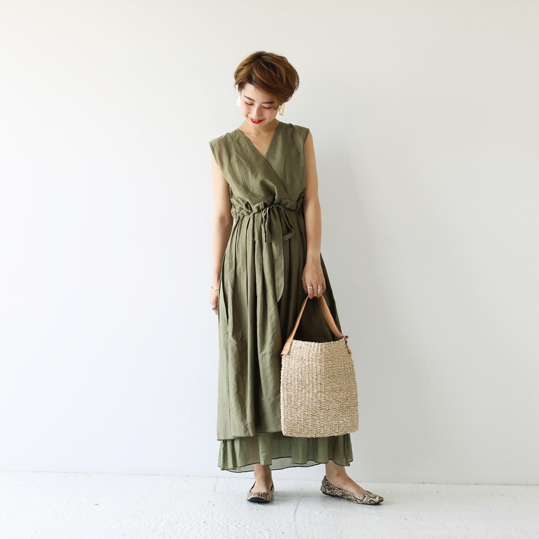 Cottonsilk Cache-coeur Dress