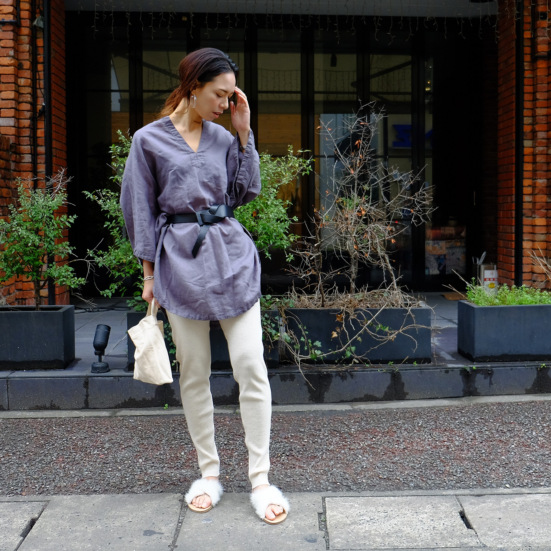 Cotton Linen Tunic