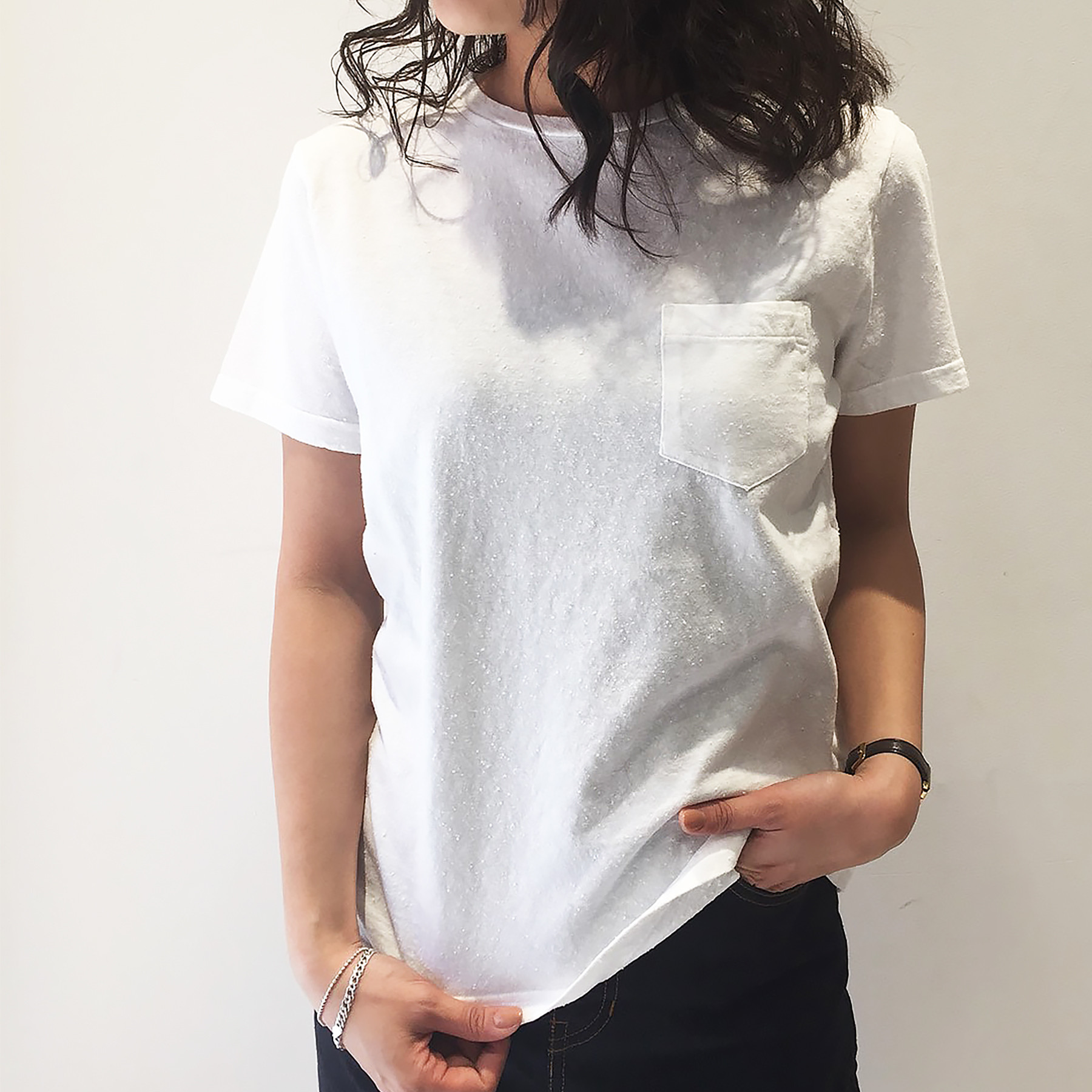 Cotton Pilling Tee