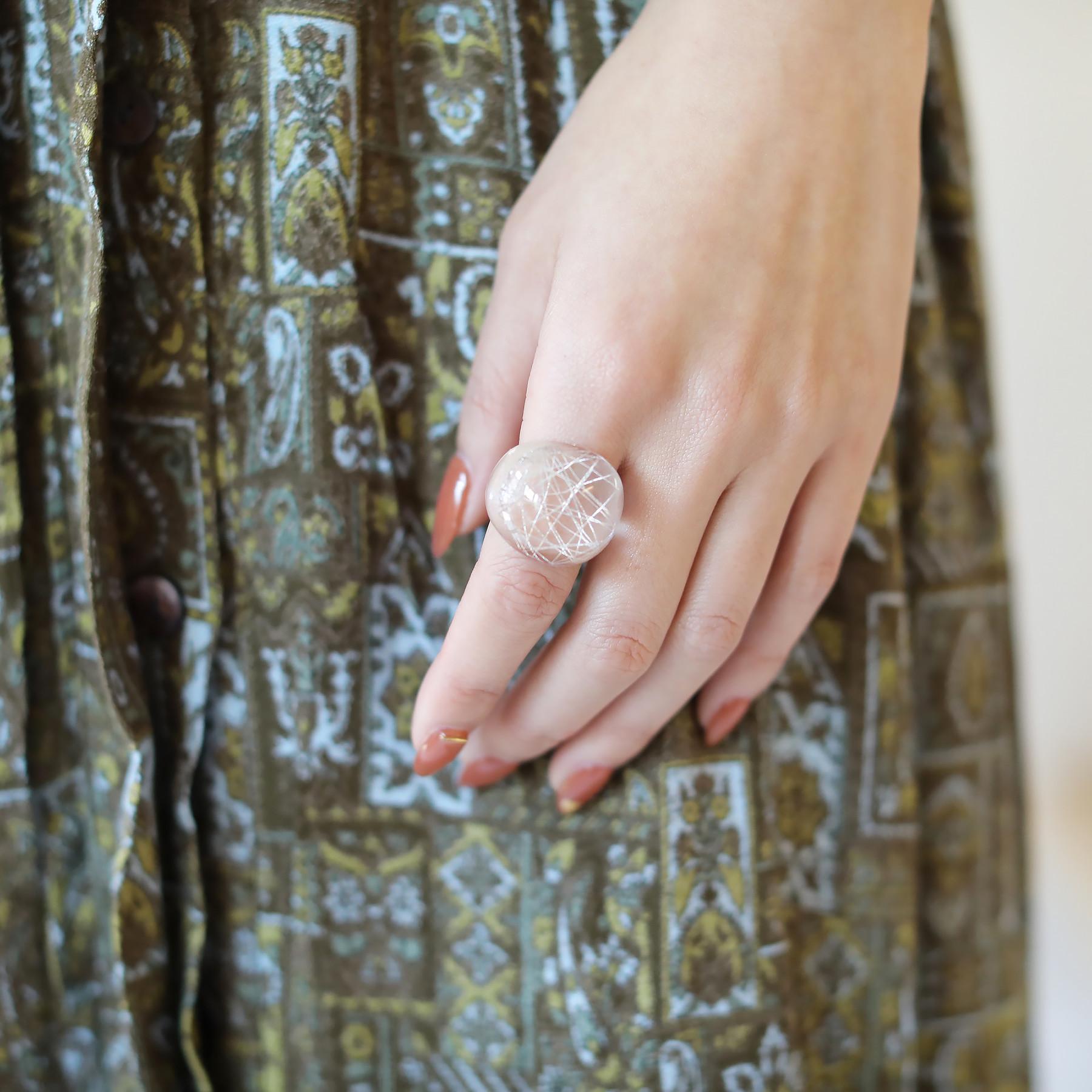 Clear Voluminous Ring