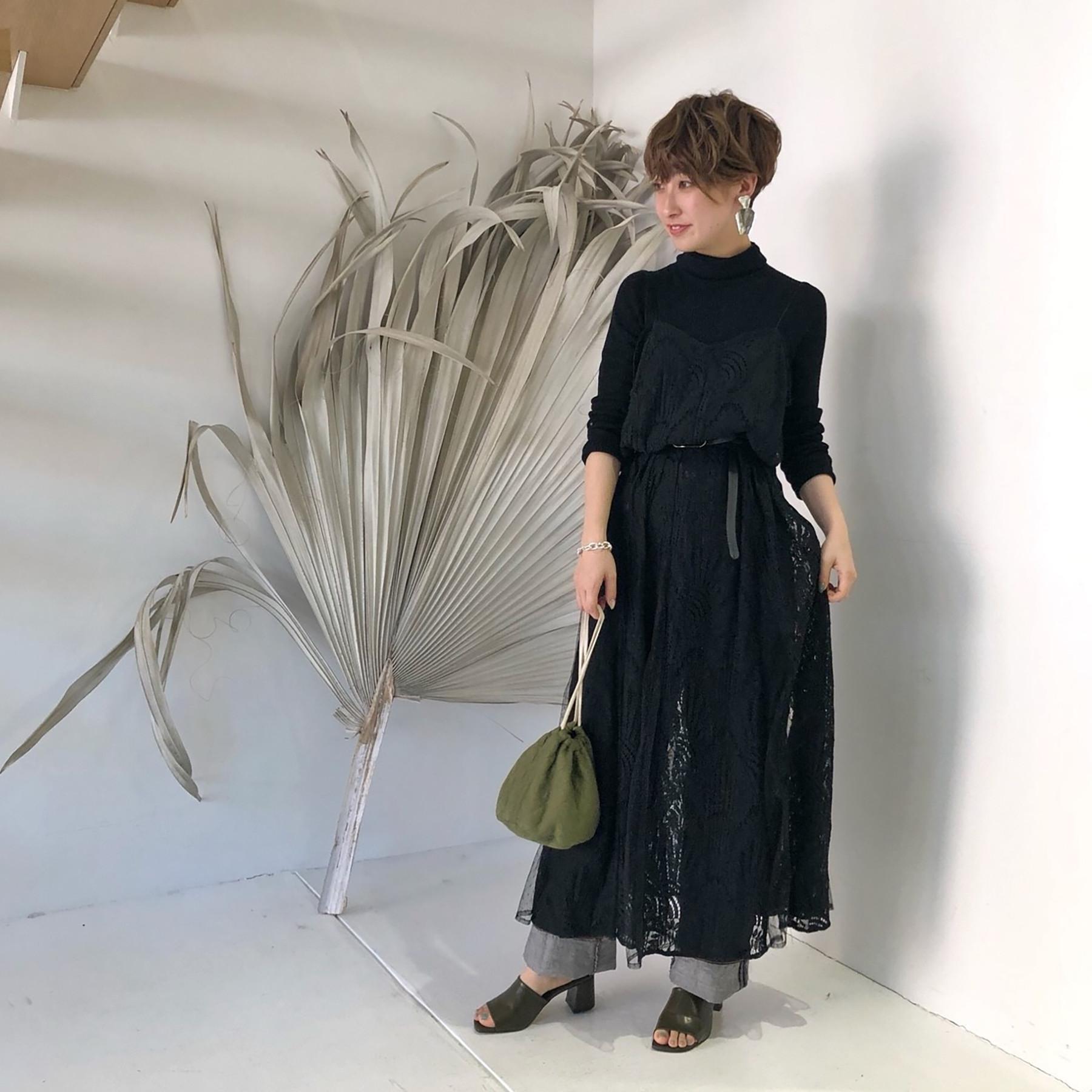 Sheerlace Camisole Dress