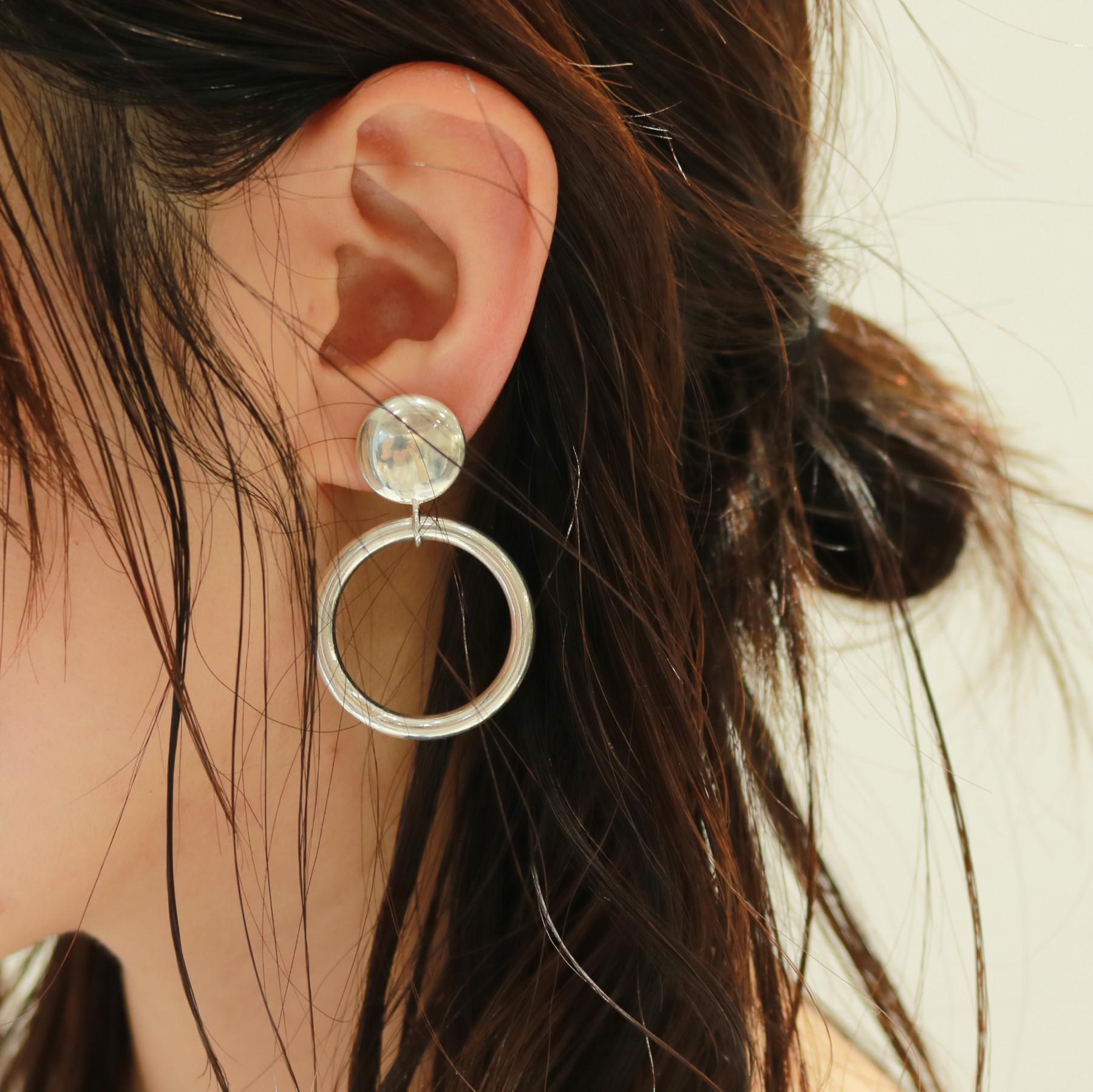 Middle Hoop Earring
