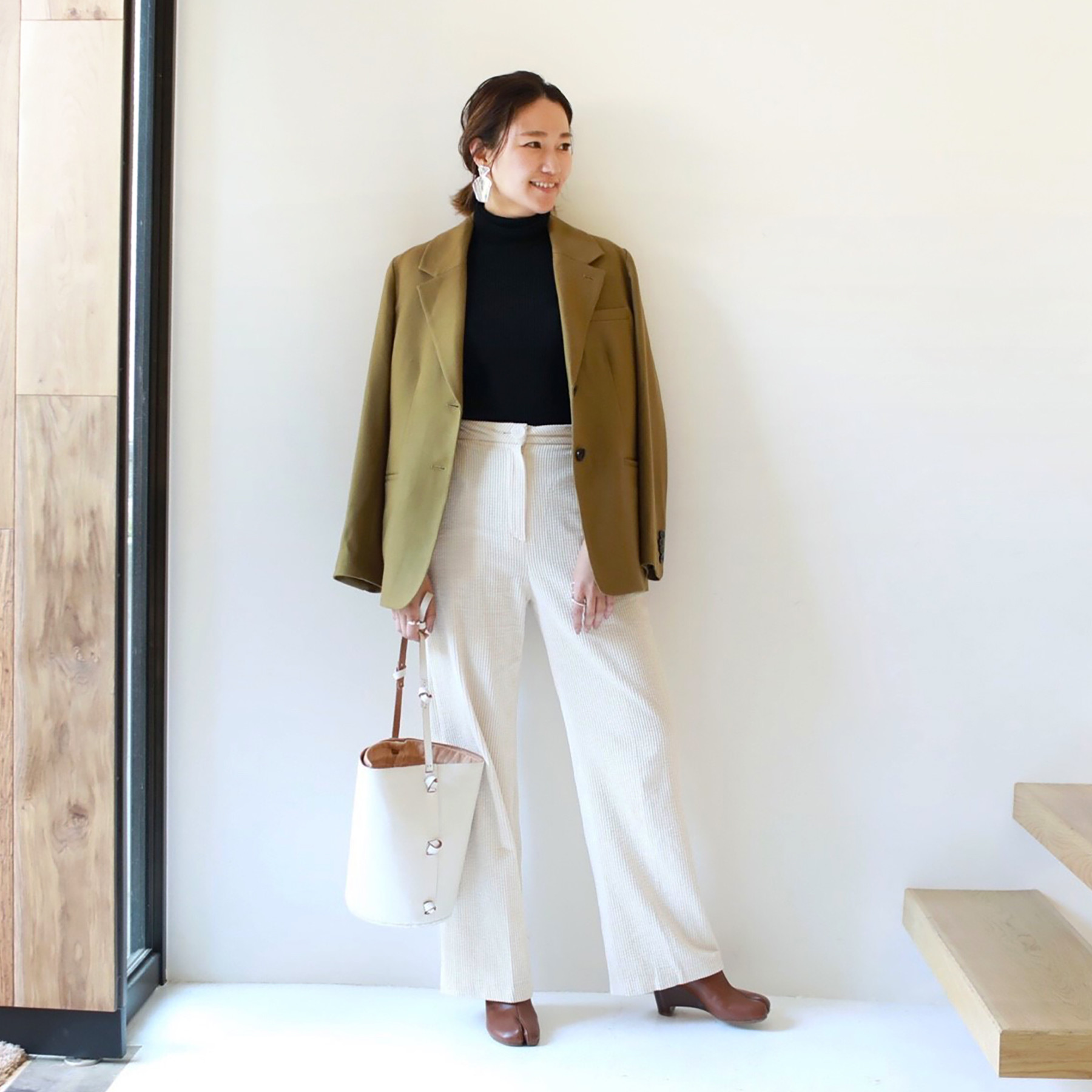 Wool Stretch Tailored JK
