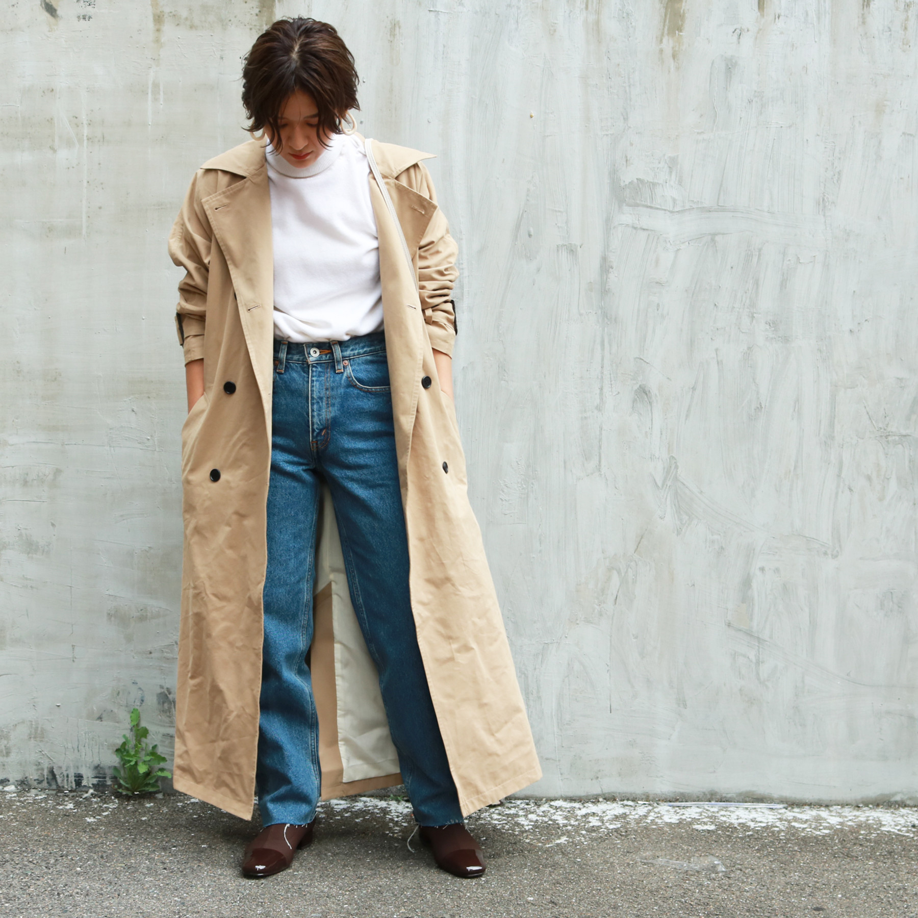 Over Trench Coat
