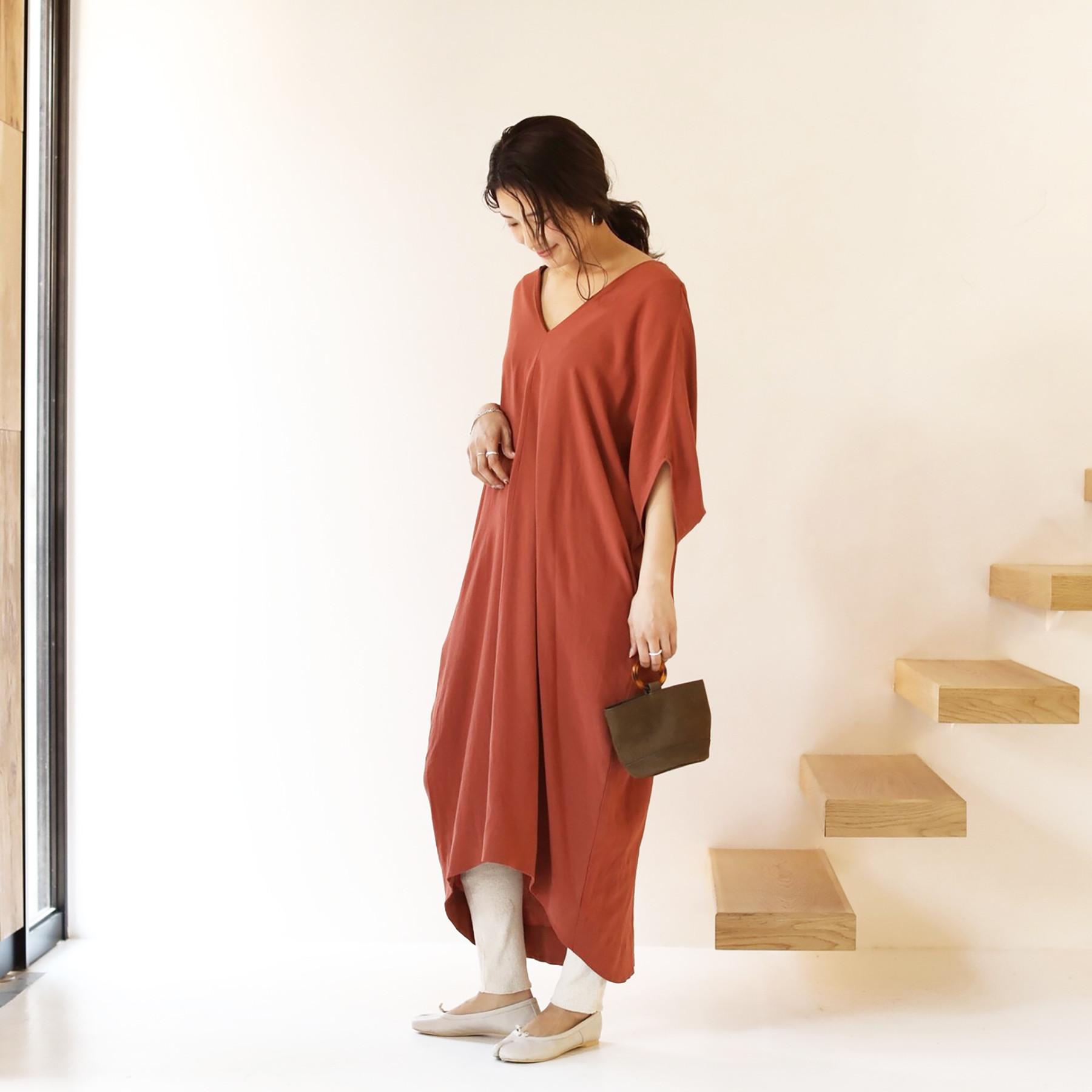 Cocoon Sack Dress