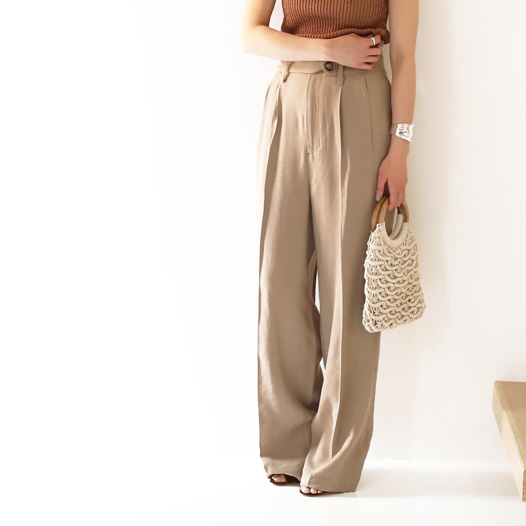 Tuck Belt Trousers