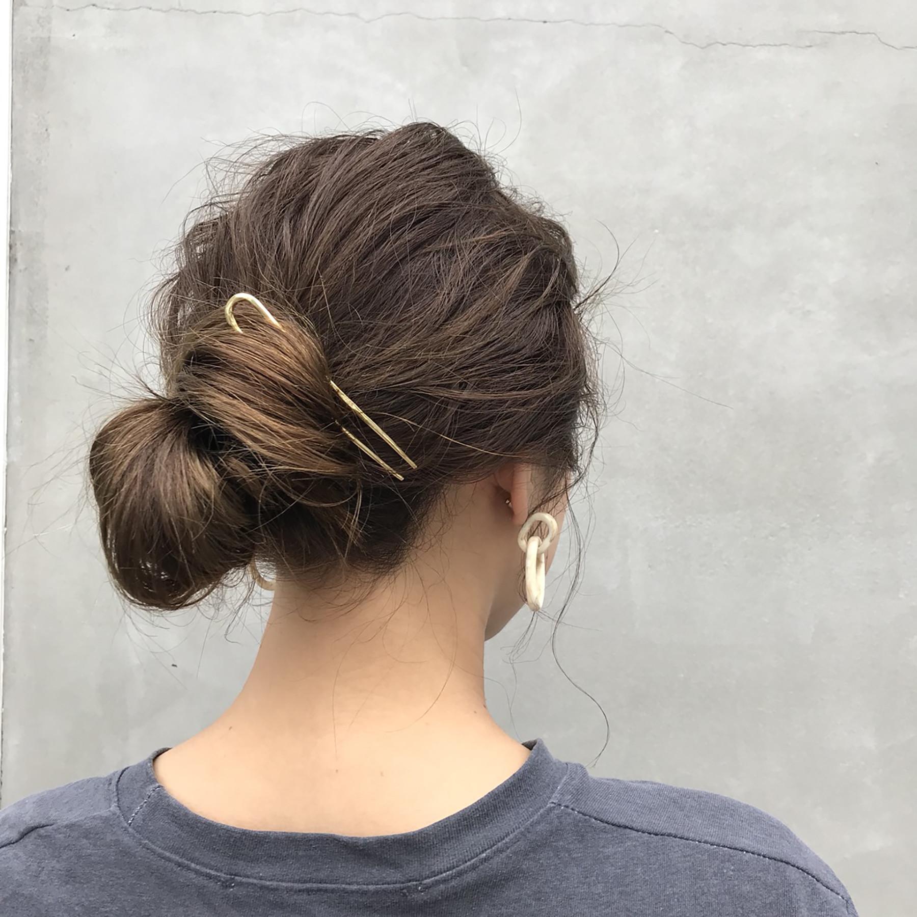 Brass Hair Comb