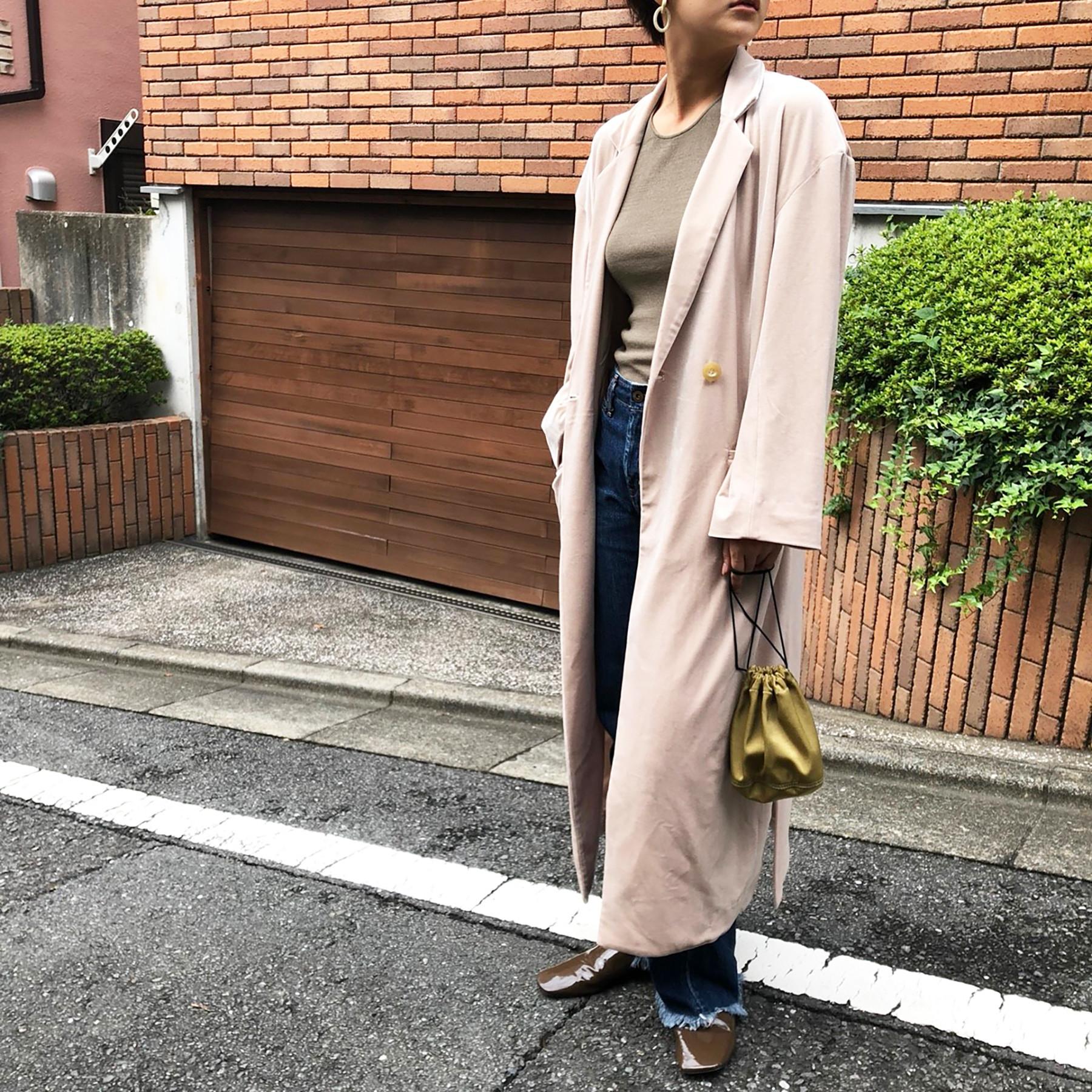 Velour Gown Coat