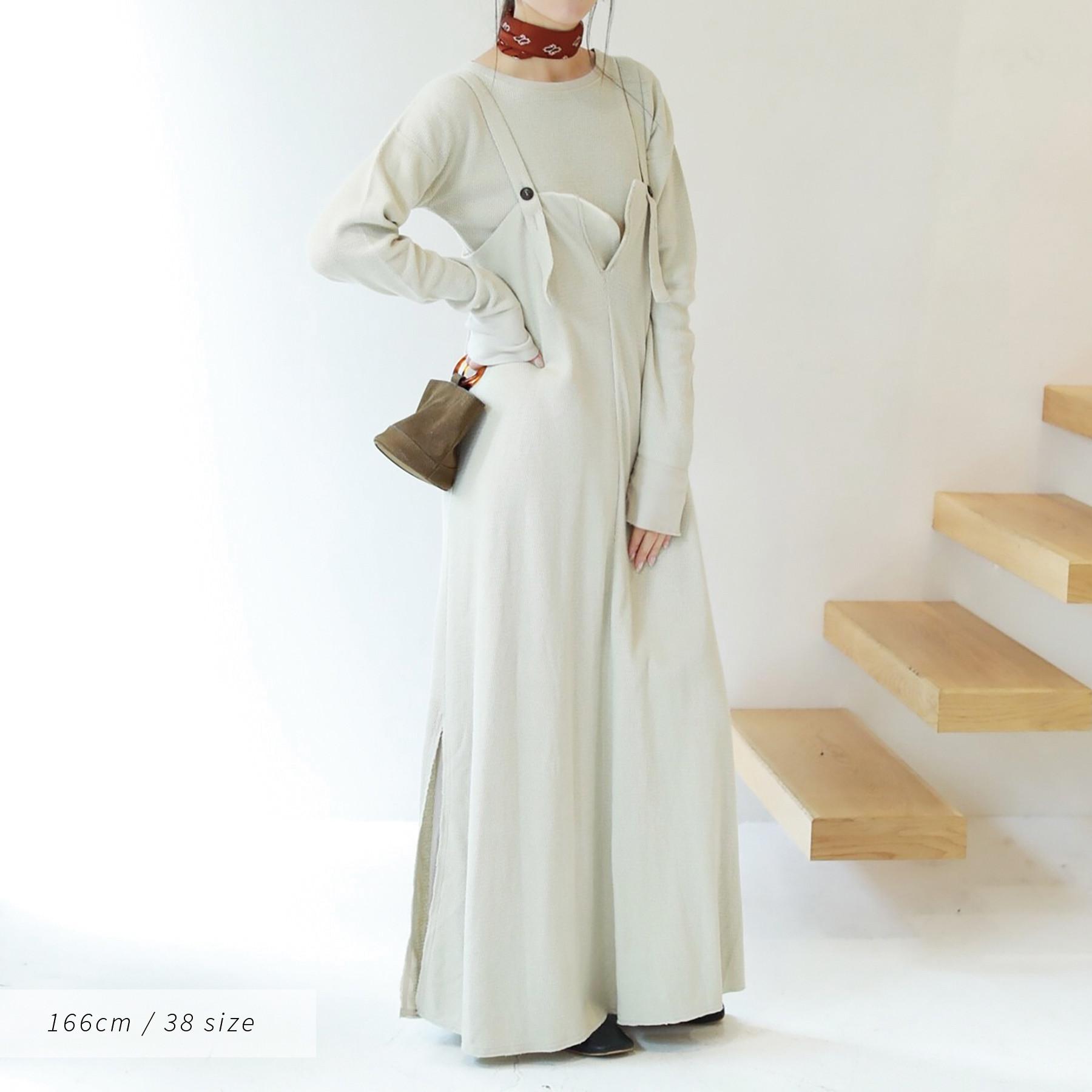 Thermal Salopette Dress