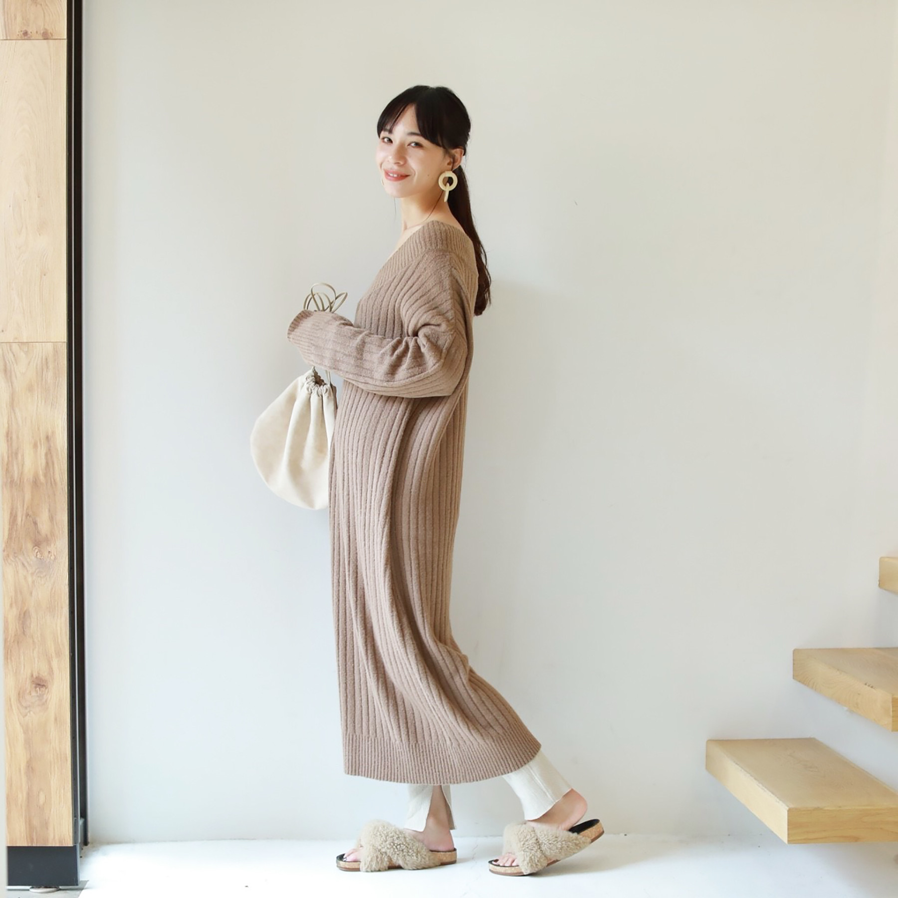 Soft Ribknit Dress