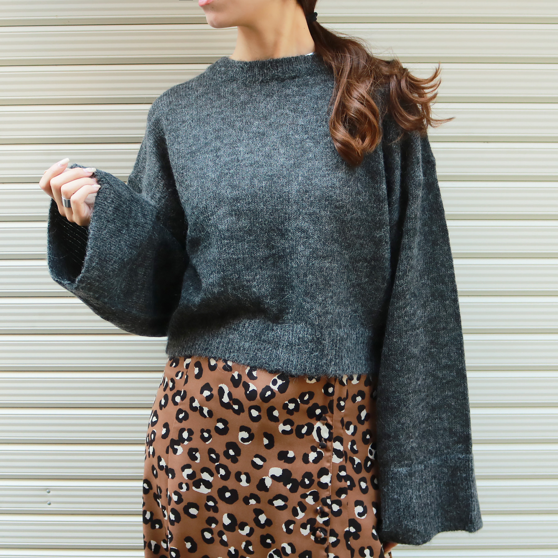 Back Cachecoeur Knit