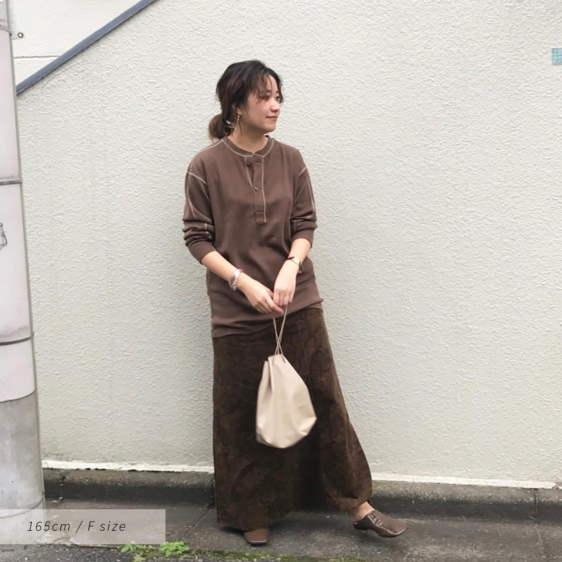 Vintage Henleyneck Knit