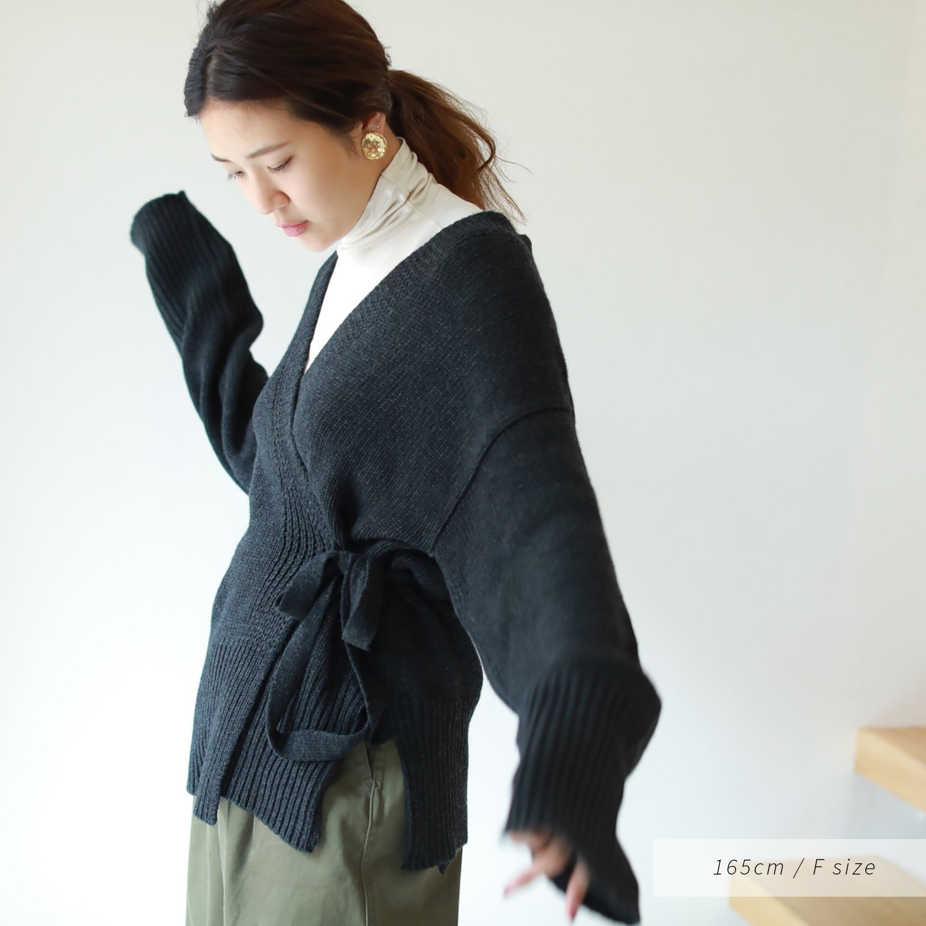 Wool Cachecoeur Knit
