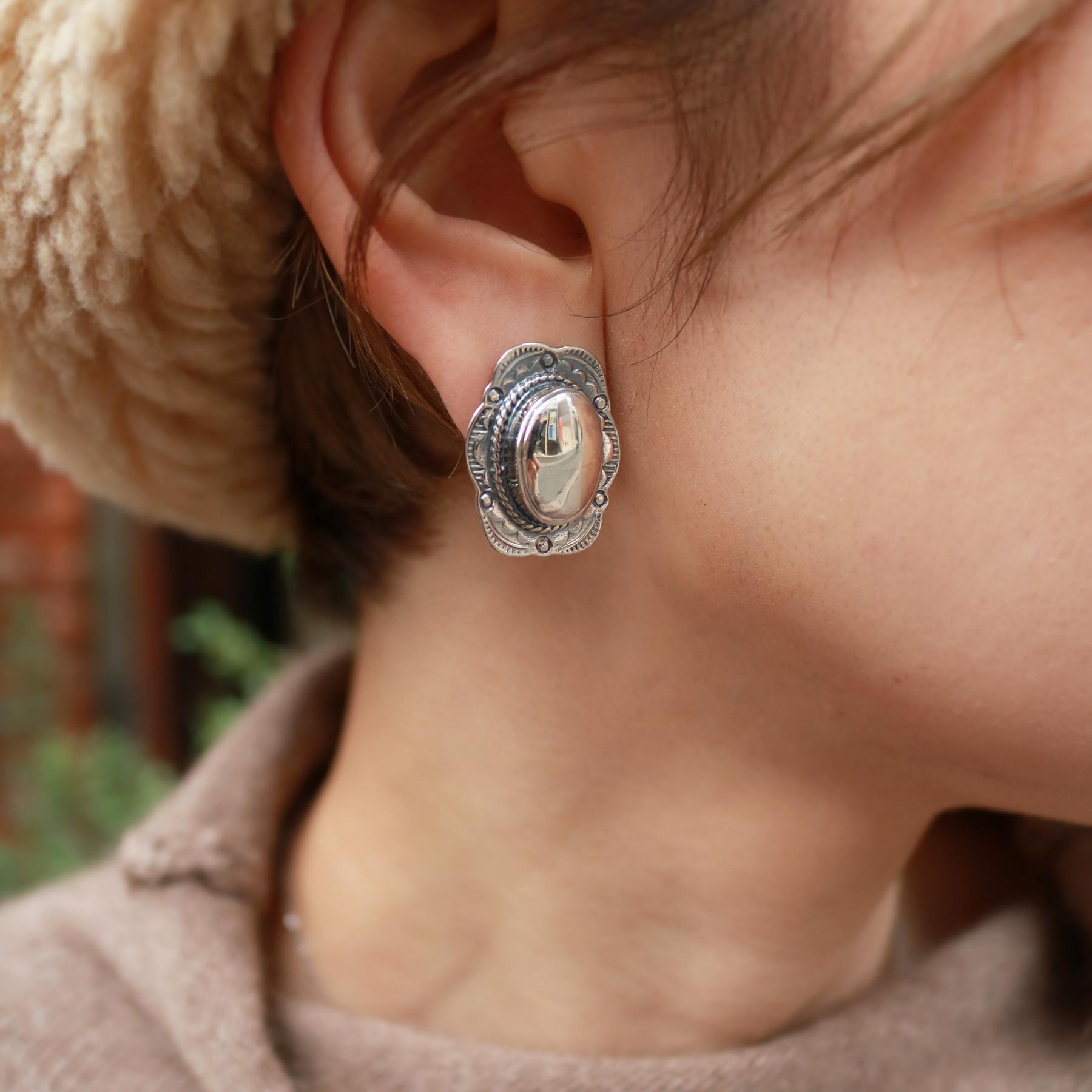 Silver925 Native Earring