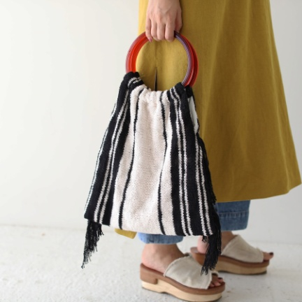 TODAYFUL(トゥデイフル) |Circlehandle Knit Bag