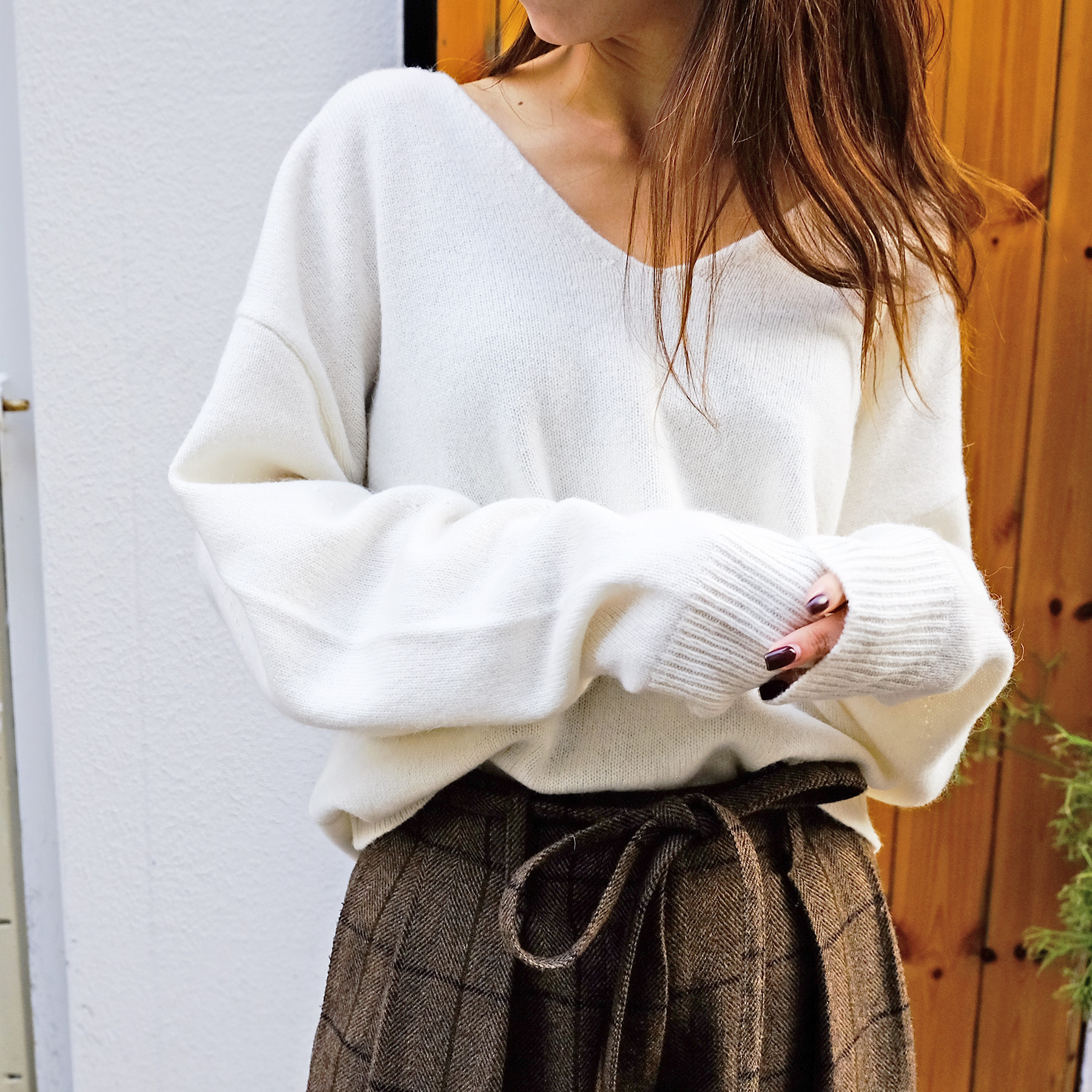 Soft Vneck Knit