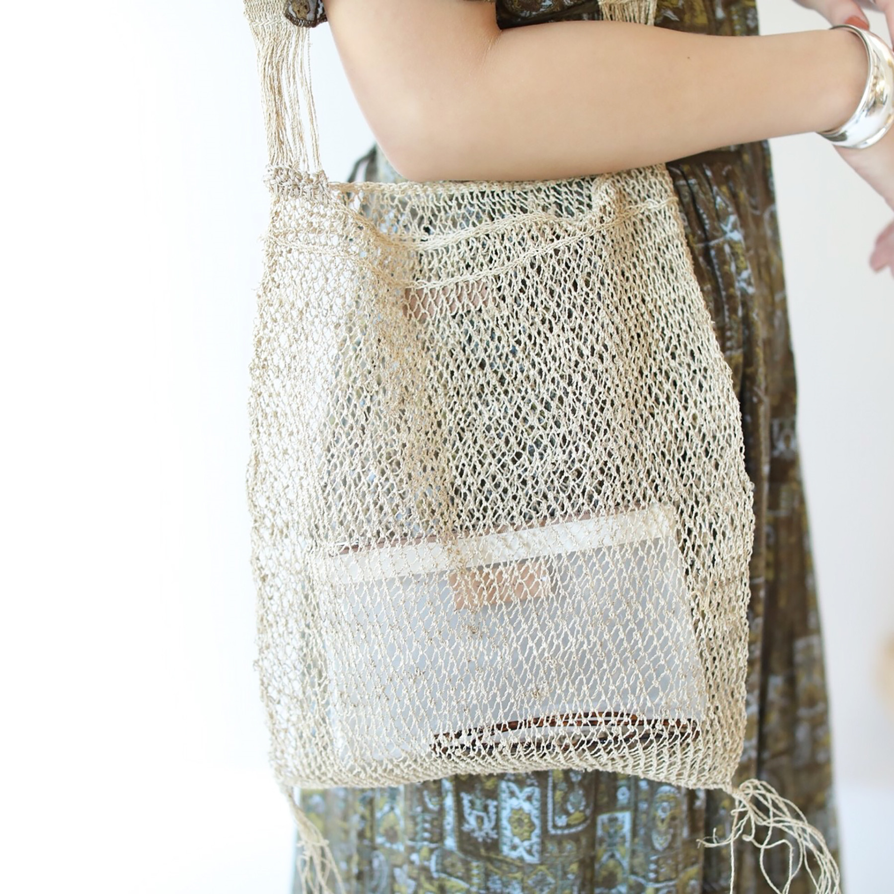 Abaca Shoulder Bag