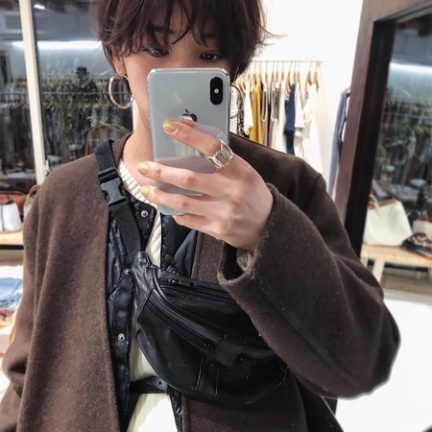 TODAYFUL(トゥデイフル) |Leather Waist Pouch